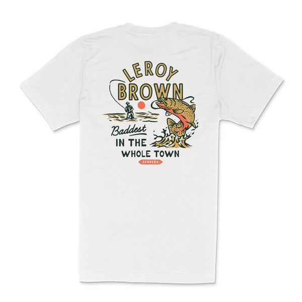 Leroy Brown T-Shirt- Vintage White