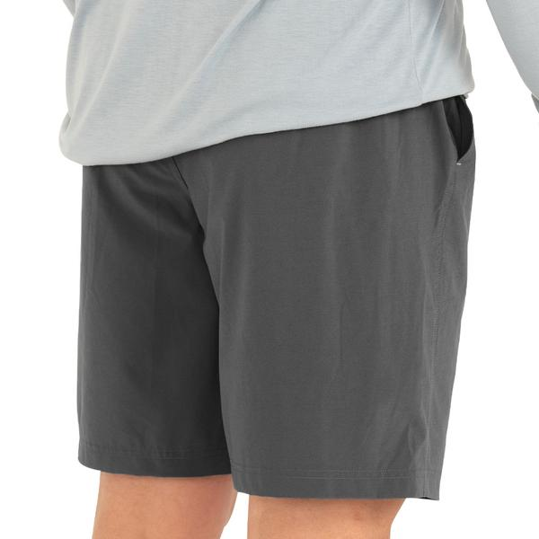 M Lined Breeze Shorts- Cement