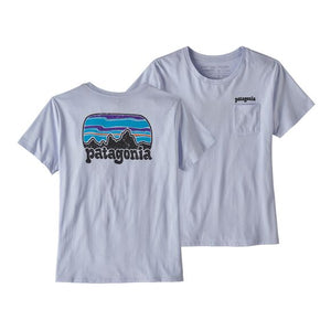 W Fitz Roy Far Out Organic Crew Pocket T-Shirt