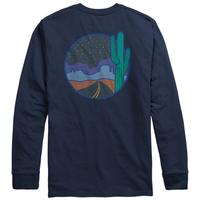Night Tripper LS Pocket Tee