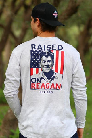 Raised on Reagan LS T-Shirt