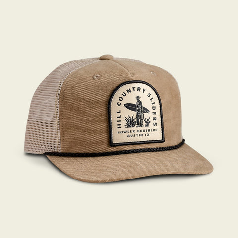 Hill Country Sliders: Taupe Structured Snapback