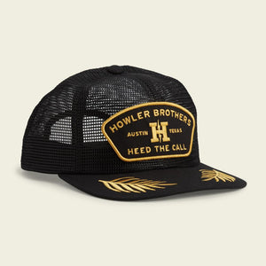 Feedstore Snapback- Officer Black