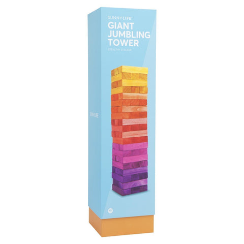 Giant Jumbling Tower Sunrise