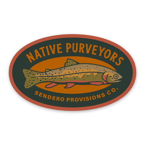 Native Purveyors Sticker