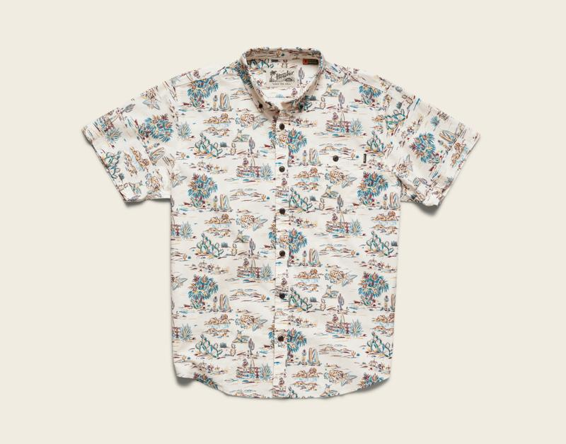 Mansfield Shirt: Outpost Print