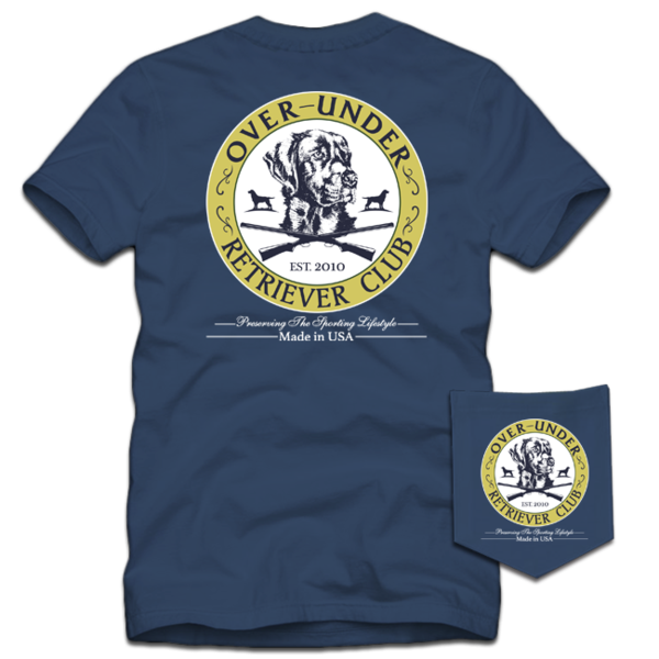 S/S Retriever Club T-Shirt Navy