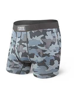 Ultra Boxer Brief - Graphite Stencil Camo