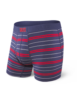 Ultra Boxer Brief - Navy Summit Stripe