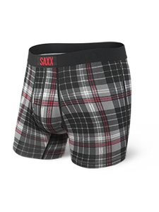 Ultra Boxer Brief - Gray Tartan
