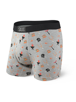 Vibe Boxer Brief - Gray Tailgate