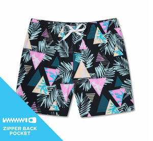 "The Fog Cutters 5.5"" Stretch Swim Trunks"