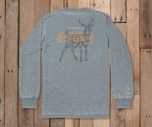 Seawash Tee- Deer- Long Sleeve