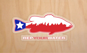 Texas Bass Sticker