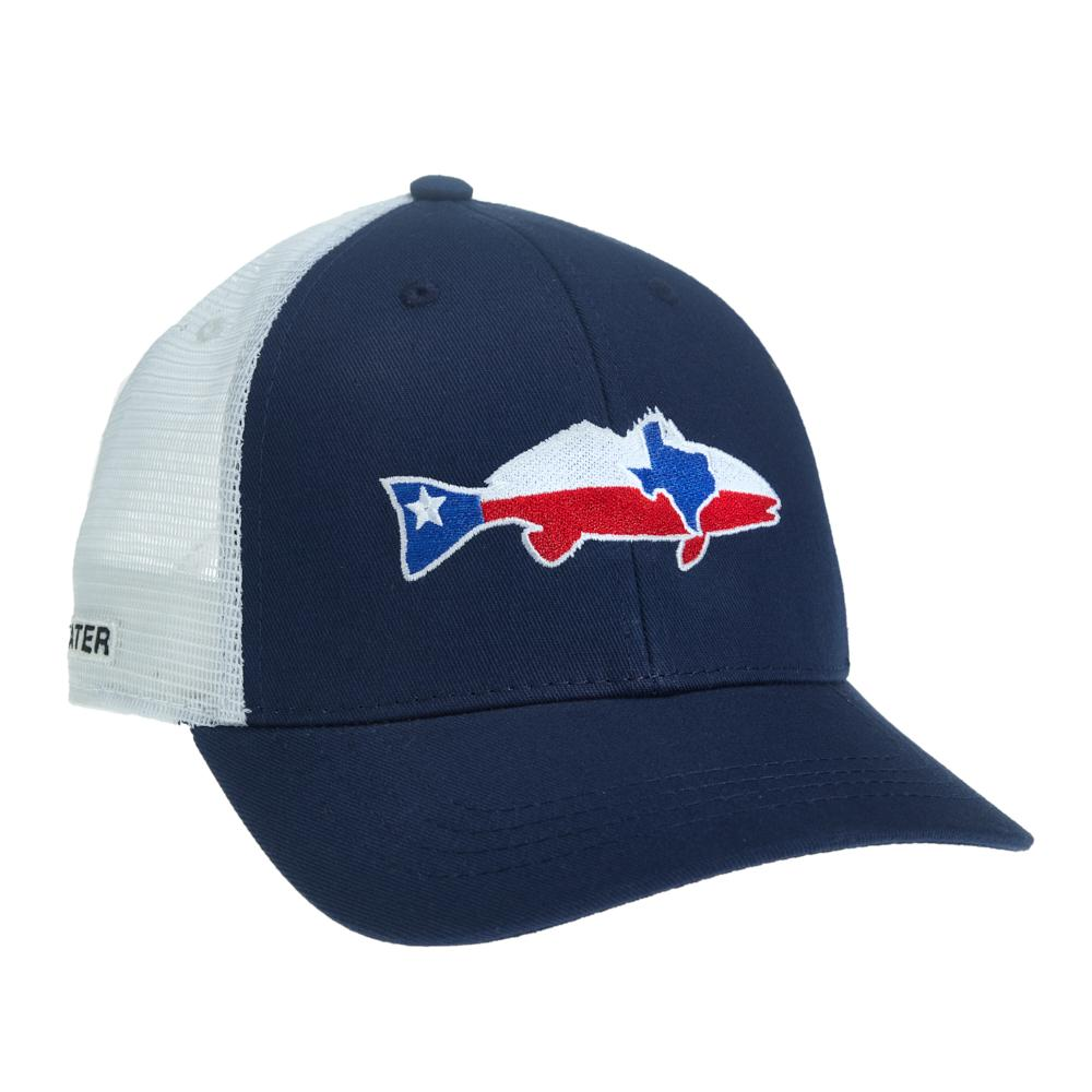 Texas Redfish Hat - Navy