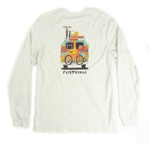 Tour De Ozarks L/S - Ash Heather