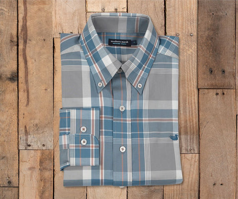 Bedford Plaid Dress Shirt
