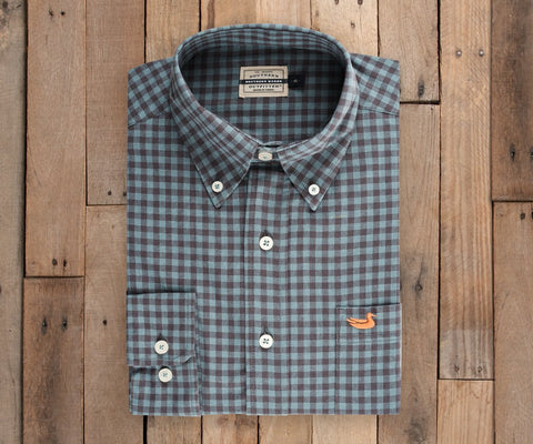 Sumner Washed Gingham Dress Shirt