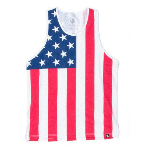 The American Flag Tank Top