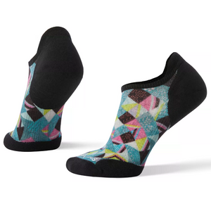 W PhD® Run Light Elite Print Micro Socks