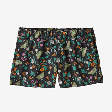 "W Barely Baggies Shorts - 2 1/2"" - Night Pollinators"