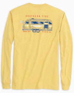 LS St. Road Trip T-Shirt - Heather Sunshine