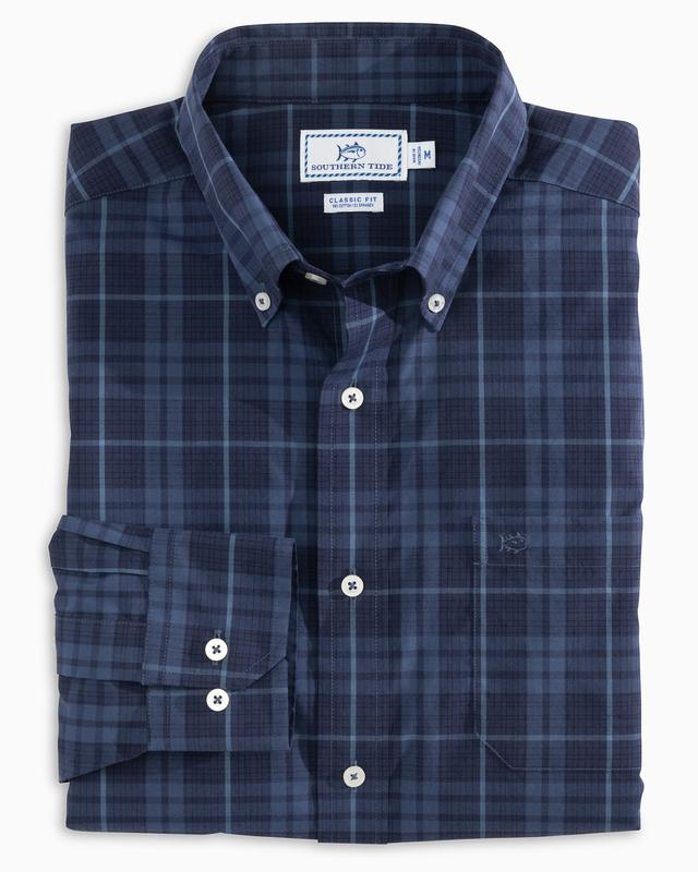 Mainmast Plaid Button Down Shirt