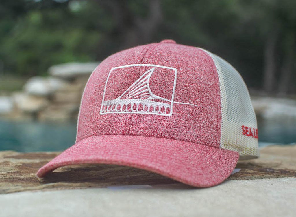 Roller Hat - Heather Red