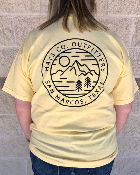 HCO Mountain View SS Pocket T-shirt