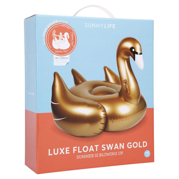 Luxe Flat Swan Gold