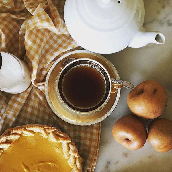 Earl Grey tea is full of flavor and is quite delightful with pies!