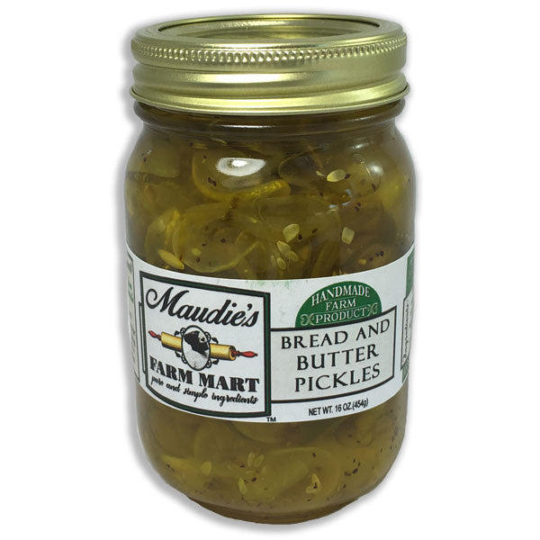 Bread and Butter Pickles, 16 ounce jar