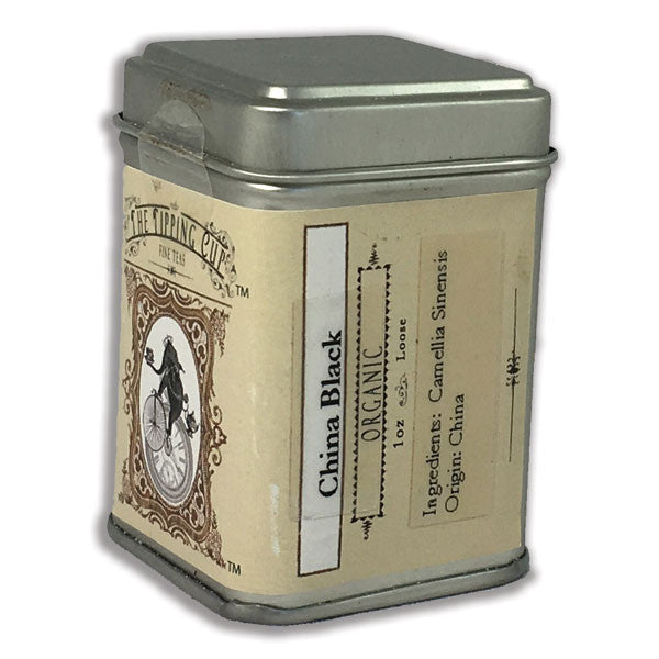 Organic China Black F.O.P. Tea - 1 ounce tin