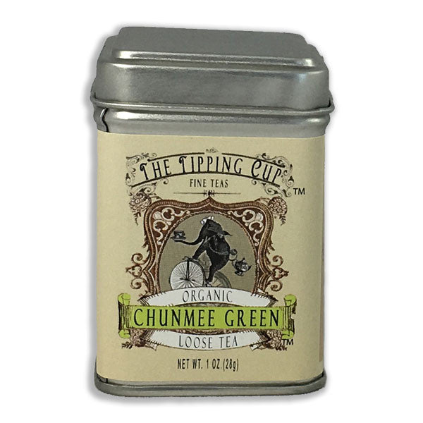 Organic Chunmee Green Tea - 1 ounce tin