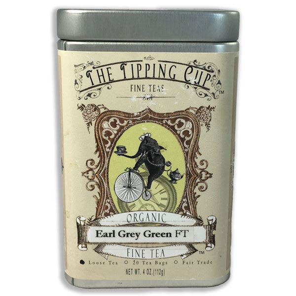 Organic Earl Green Tea - 4 ounce tin