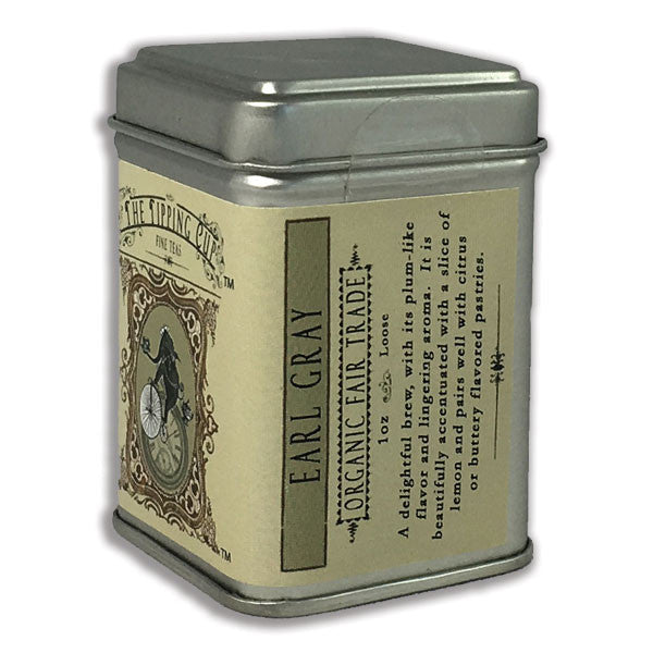Organic Earl Grey Tea - 1 ounce tin