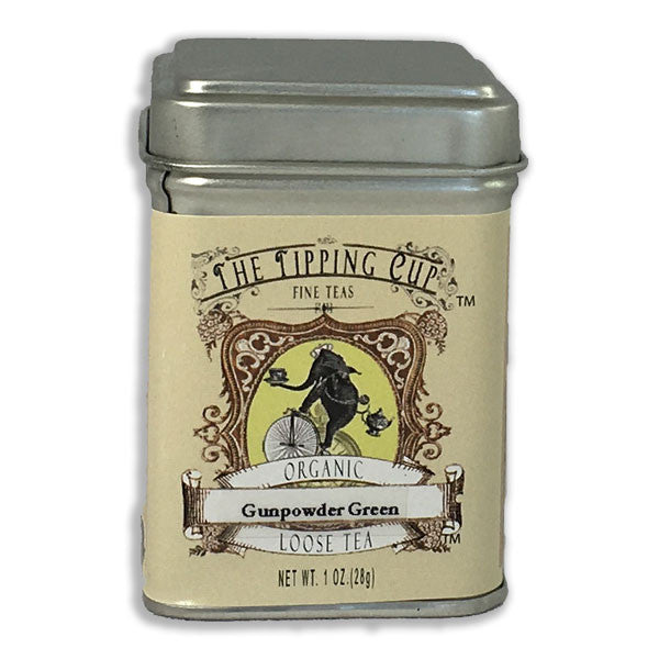 Organic Gunpowder Green Tea - 1 ounce tin