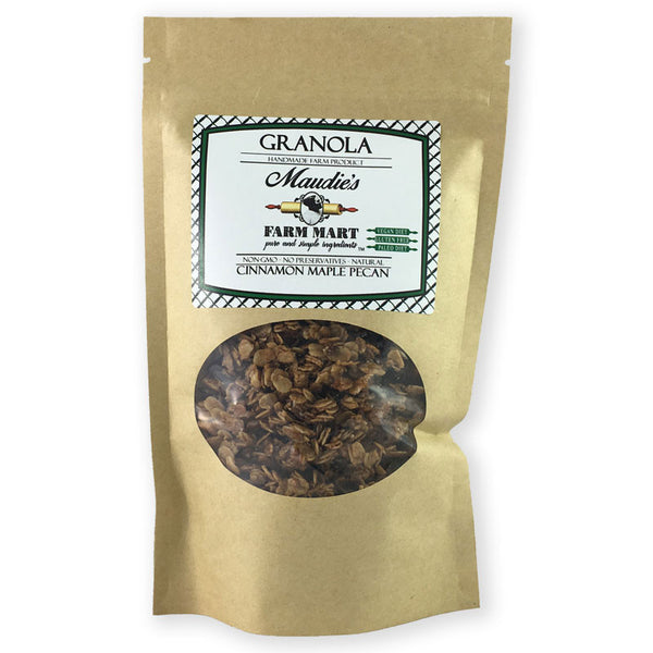 Small Batch Granola: Cinnamon Maple Pecan, Gluten free, Paleo