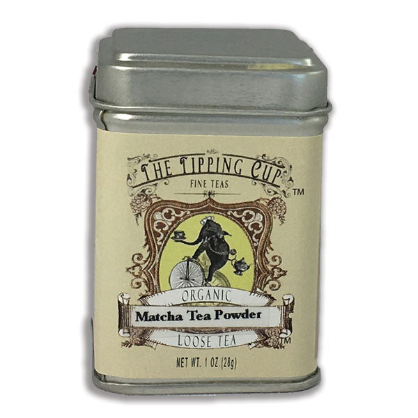 Organic Matcha Tea Powder - 1 ounce tin