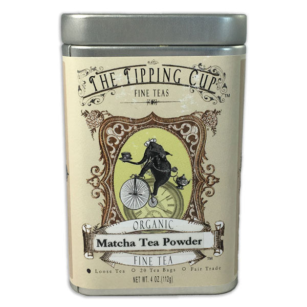 Organic Matcha Tea Powder - 4 ounce tin