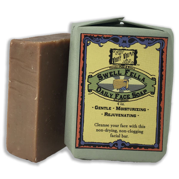Swell Fella: Daily Face Soap, goat's milk soap