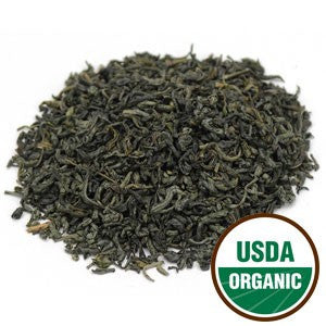 Organic Chunmee Green Tea - loose leaf tea