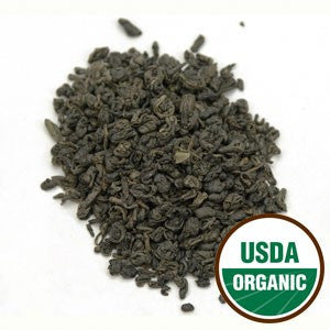 Organic Gunpowder Green Tea - loose leaf tea