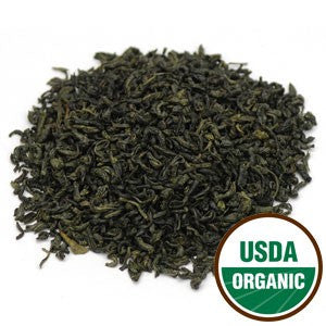 Organic Young Hyson Green Tea - loose leaf tea