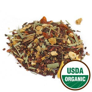 Organic Hibiscus Tea - loose leaf tea