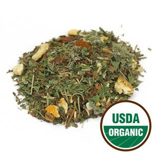 Organic Raspberry Mint Tea - loose leaf tea