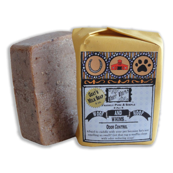 Woof and Hoof: Odor Control Goat's Milk Soap, odor eliminating soap