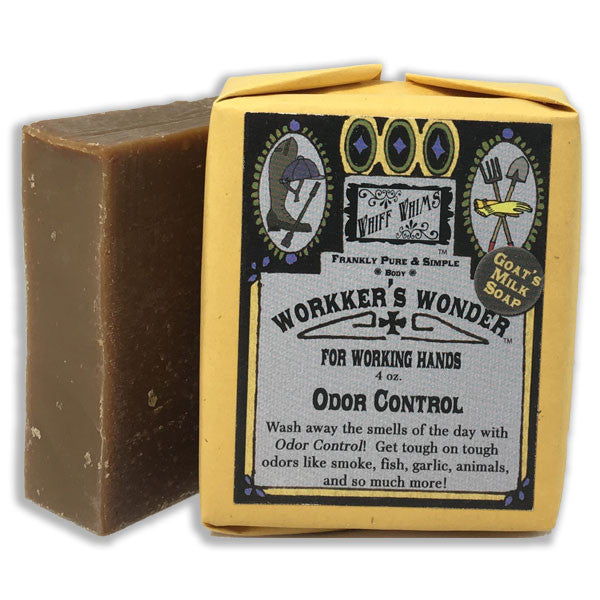 Workers Wonder: Odor Control Goat's Milk Soap