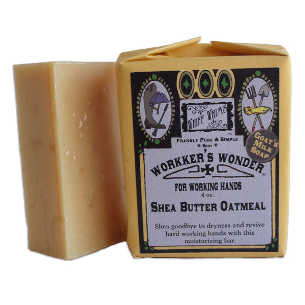 Workers Wonder: Shea Butter Oatmeal Goat's Milk Soap, for dry working hands