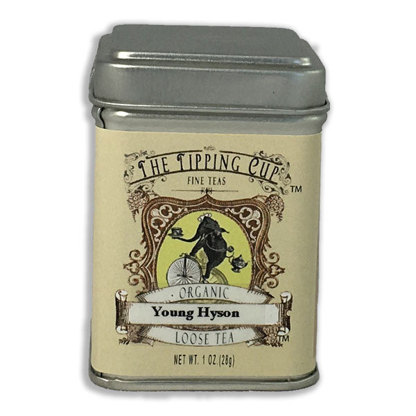 Organic Young Hyson Green Tea - 1 ounce tin